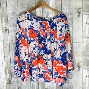 Vince Camino | Floral Blouse